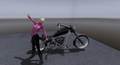 kinky biker