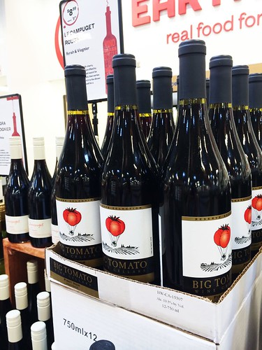 Earth Fare Greenwood Big Tomato Wine