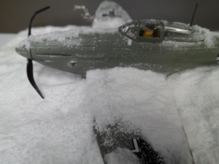 La Dame de la neige [Heinkel 112 B Heller 1/72] 14677759144_31b31673de_o