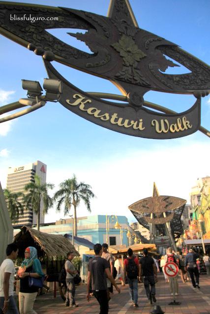 Kuala Lumpur Malaysia Kasturi Walk