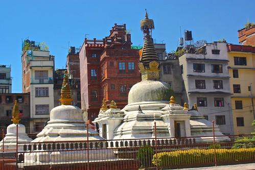 walking around Durbar Square Patan