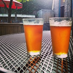 #redhook and #bellstwohearted. Perfect summer brews. Thanks @MOTRpub