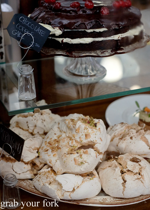 Meringues at The Pig and Pastry, Petersham