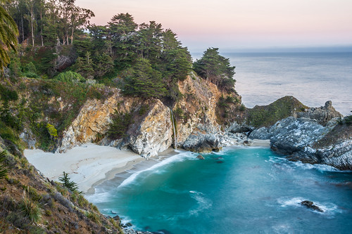 McWay Falls by Geoff Livingston