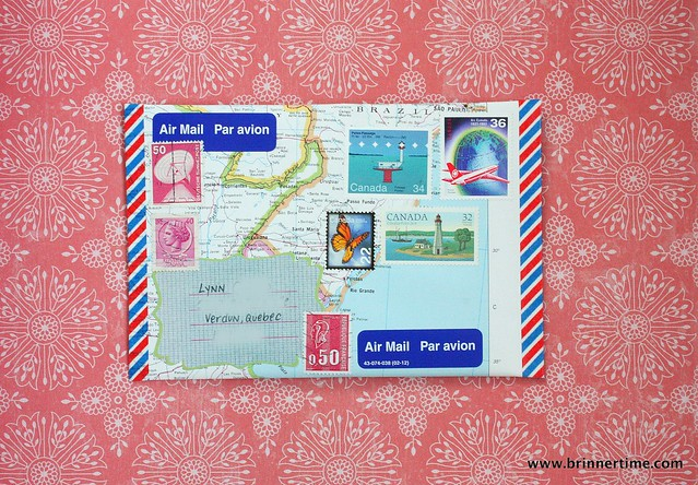 Map letter, outgoing