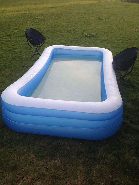 checking out the pop up pool party flickr photo sharing. Black Bedroom Furniture Sets. Home Design Ideas
