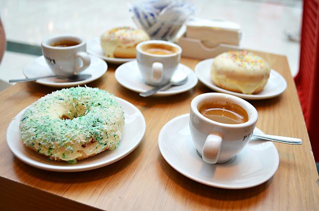 Doughnuts and coffee, Oko, La Orotava, Tenerife