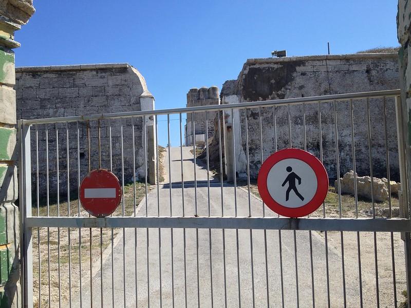 Isla De Las Palomas is closed to public