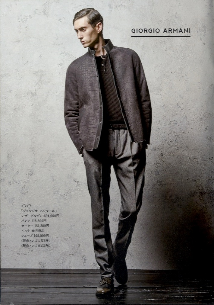 Mathias Bilien0088_HANKYU MEN'S THE STYLE AW 2014(wtokyo)