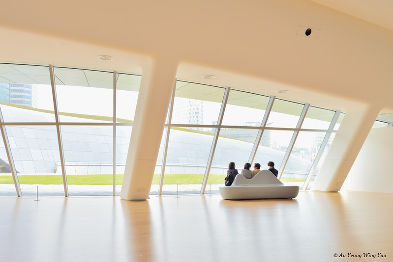 Dongdaemun History & Culture Park Interior 8: Resting Gallery