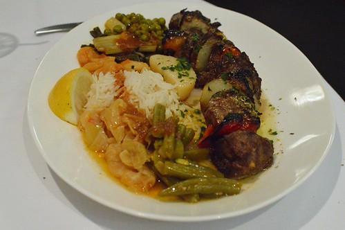 Athenian: Lamb souvlaki