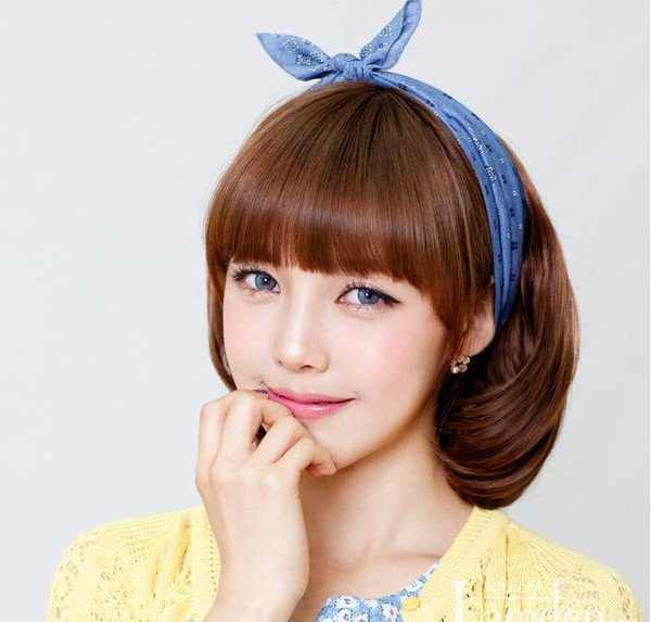 Các kiểu tóc ngắn đẹp! Tóc ngắn ép, uốn xoăn Hàn Quốc 15