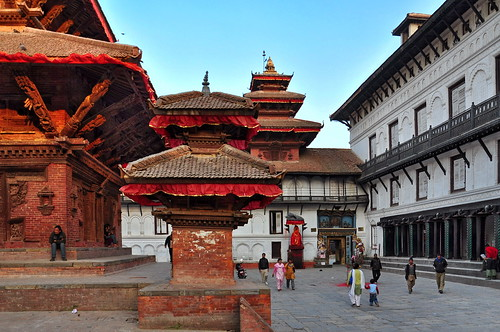 Nepal - Kathmandu - Durbar Square - 34