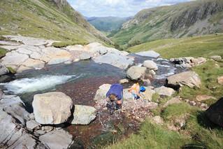 England - Hike to Skafell Pike