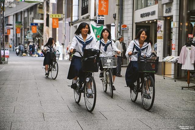 尾道 女學生