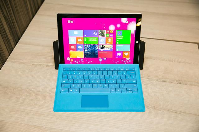 頂級性能平板 Surface Pro 3 體驗會搶先實機分享 @3C 達人廖阿輝