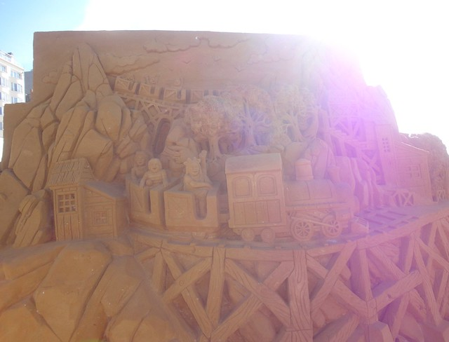 Sculpures sur sable Disney - News Touquet p.1 ! 14770330837_c927939ae0_z