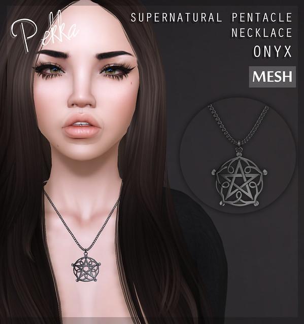 pekka supernatural pentacle onyx