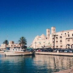 Having a walk over #Molfetta old town's waterfront #vscocam