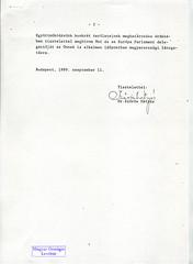 105. Szűrös Mátyás meghívólevele dr. Habsburg Ottónak