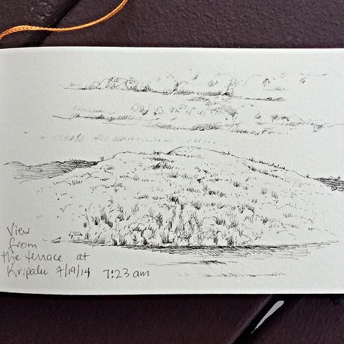 Kripalu Sketch