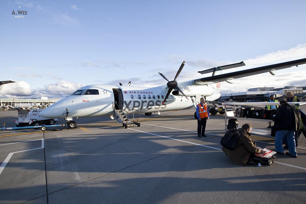 Air Canada Bombardier Dash-8