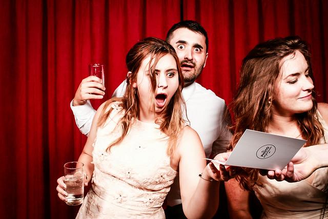 wedding day bridesmaid bride and groom