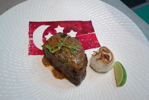 Beef Rendang at Saint Pierre - National Day Special only available on 9 Aug 2014