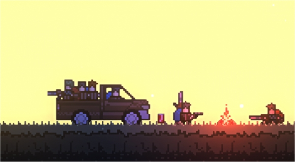 roguelands is a 2d monster survival game like dayz h1z1 one angry