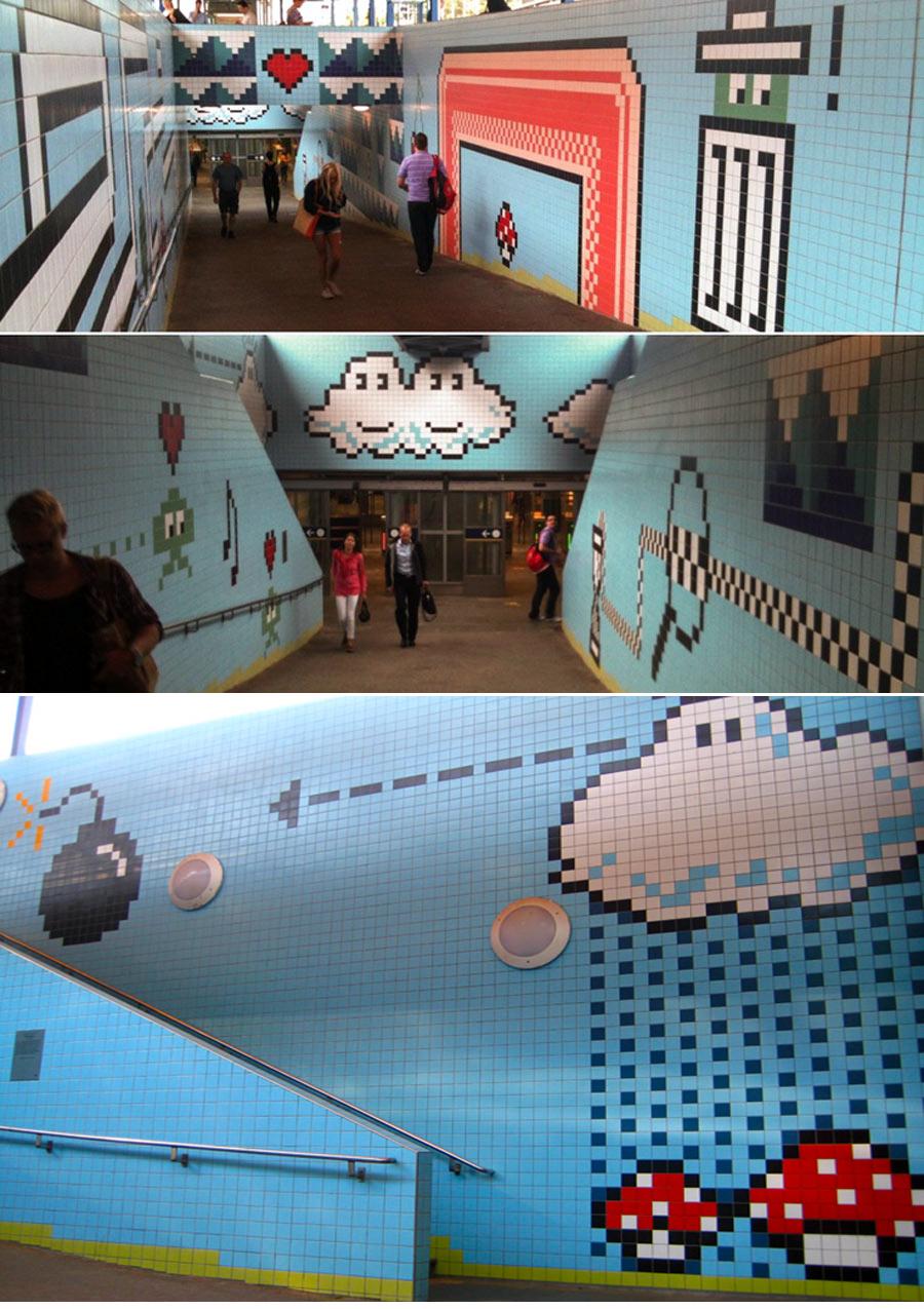 Interior de las estaciones del metro de Estocolmo en Suecia metro de estocolmo - 14831480011 4e055a202e o - Arte en el metro de Estocolmo