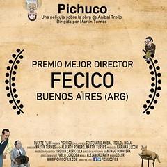 #Premio Mejor #Director por @PichucoFilm en el #FECICO #Festival #Cine #ARG