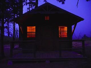 Paso Picacho Campground Cabin