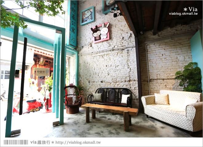 【阿朗基咖啡】台南店開幕囉!台南老屋餐廳推薦~老屋改造+可愛療癒系的新餐廳6