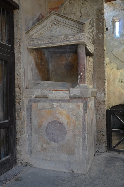 A Lararium in the House of Menander, Pompeii