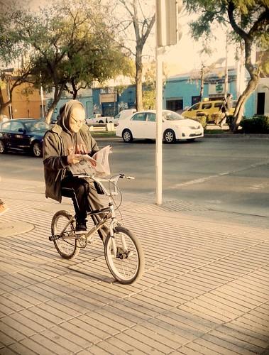 Querido diario hoy un ciclista me fotografió