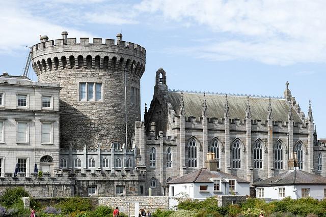 DUBLIN CASTLE AUGUST 2014 Ref-4011