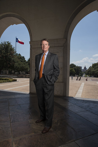 UT President Bill Powers successfully led the university to surpass the $3 billion goal of the Campaign for Texas. (Photo by Wyatt McSpadden)