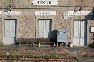 Antigua estación de ferrocarril.