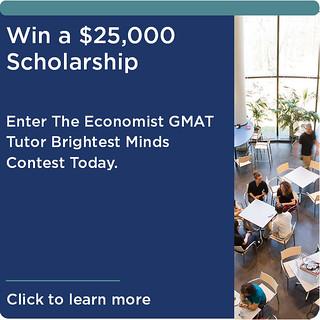 Economist GMAT Contest Advertisement