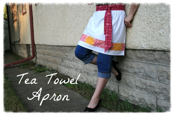 Tea Towel Apron
