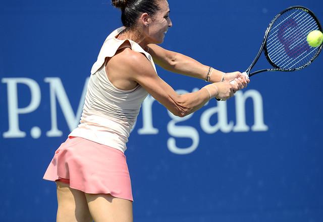 2014 US Open (Tennis) - Tournament - Flavia Pennetta