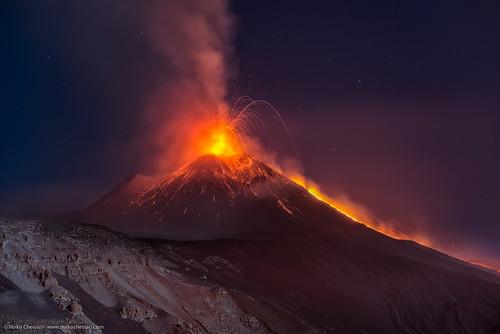 Attività  Etna 11 agosto 2014