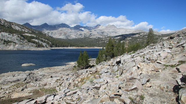 Backpacking Silver Lake to Thousand Island Lake