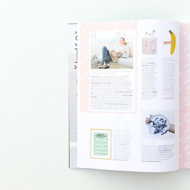 Depeapa en Frankie Magazine