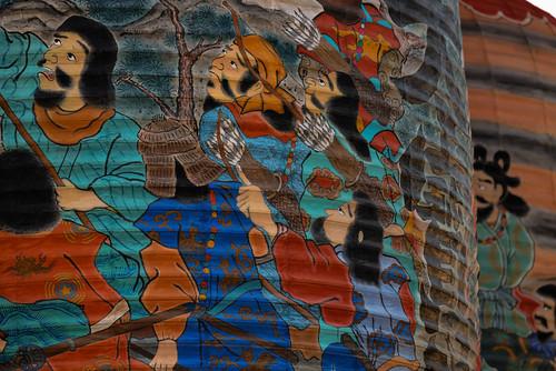 2014 A large paper lantern festival D600-84