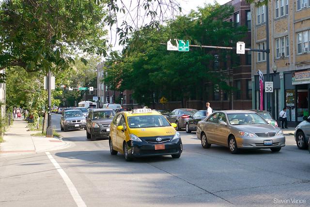 Ridge Avenue speed and traffic study