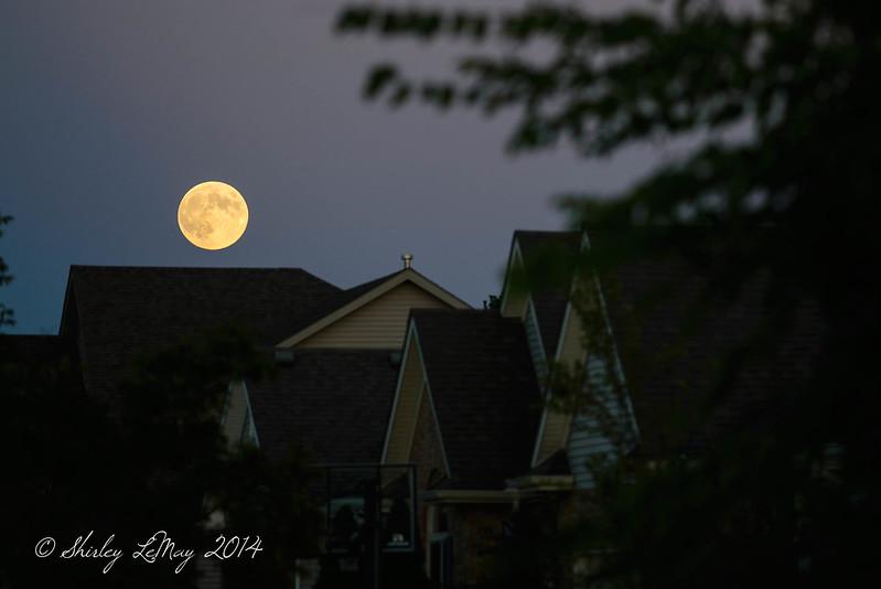 I See the Full Moon Arising