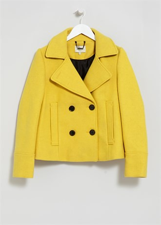 Matalan double-breasted-pea-coat