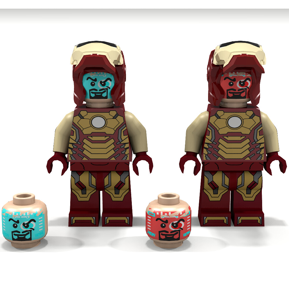 lego iron man mark 34 - photo #47