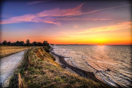 sunset strand sonnenuntergang hdr steilküste schleswigholstein lübeckerbucht brodten steilufer brodtenersteilküste brodtenersteilufer